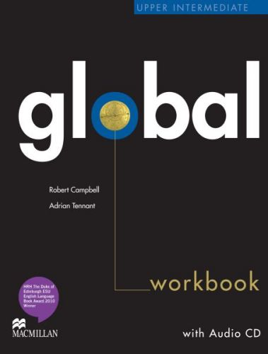 Global Upper-intermediate - Workbook without key + CD cena od 239 Kč