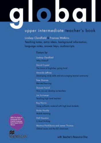 Global Upper-intermediate - Teacher`s Book + Resource CD Pack cena od 597 Kč
