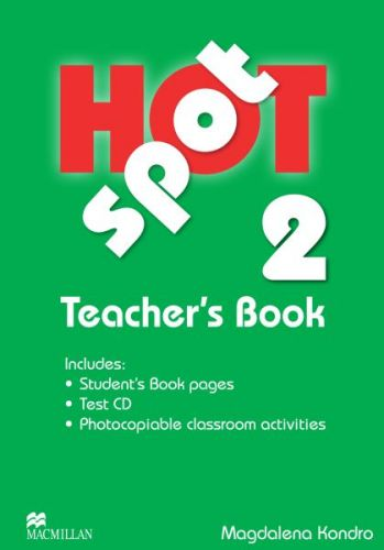 Hot Spot Level 2 - Teacher's Book + Test CD Pack cena od 639 Kč