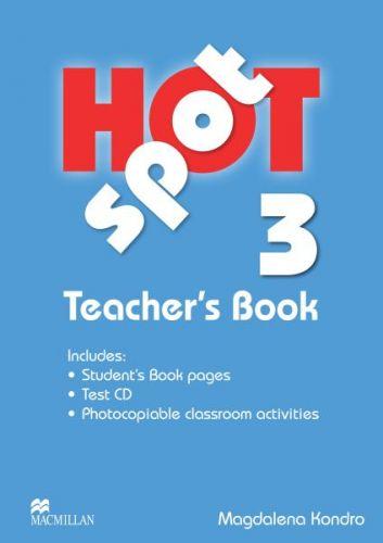 Hot Spot Level 3 - Teacher's Book + Test CD Pack cena od 672 Kč