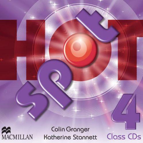 Hot Spot Level 4 - Class CDs cena od 620 Kč