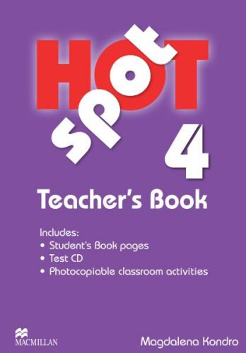 Hot Spot Level 4 - Teacher's Book + Test CD Pack cena od 639 Kč