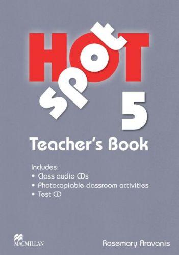 Hot Spot Level 5 - Teacher's Book + Test CD Pack + Audio CD cena od 672 Kč