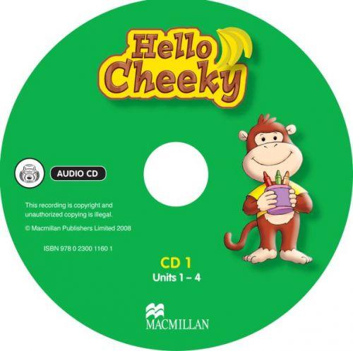 Cheeky Monkey - Hello Cheeky - Class Audio CDs cena od 584 Kč