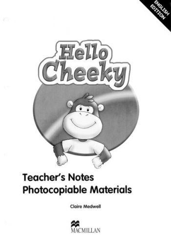 Cheeky Monkey - Hello Cheeky - Teacher's Notes cena od 688 Kč