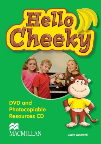 Cheeky Monkey - Hello Cheeky - DVD & Photocopiable CD cena od 636 Kč