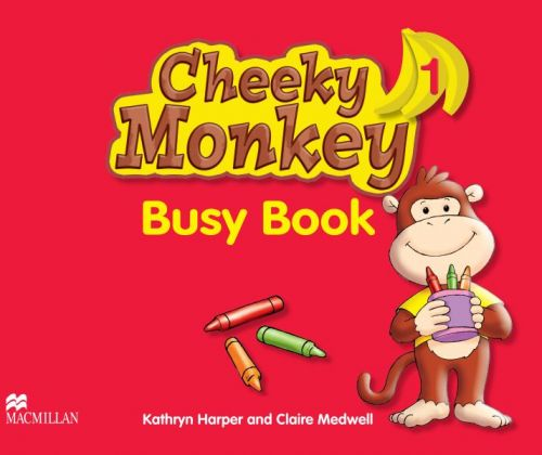 XXL obrazek Cheeky Monkey 1 - Busy Book