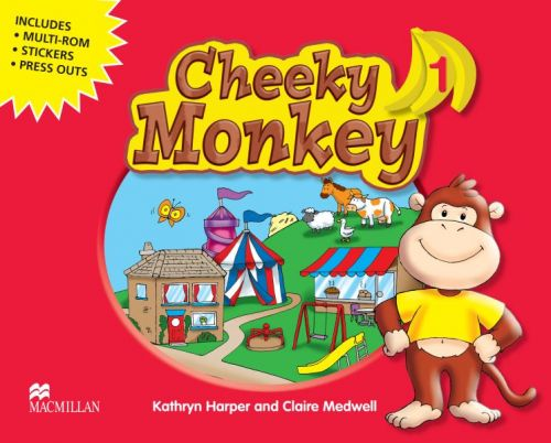 XXL obrazek Cheeky Monkey 1 - Pupil's Book Pack