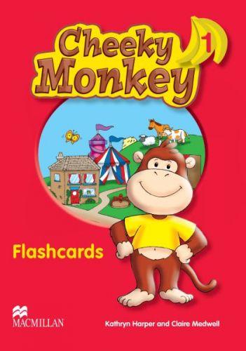Cheeky Monkey 1 - Flashcards cena od 416 Kč