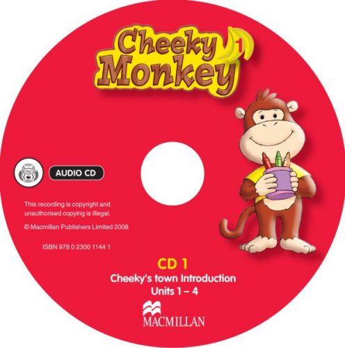 Cheeky Monkey 1 - Class Audio CDs cena od 616 Kč