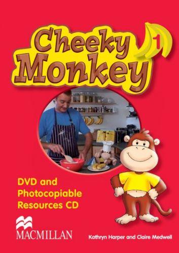 Cheeky Monkey 1 - DVD & Photocopiable CD cena od 680 Kč