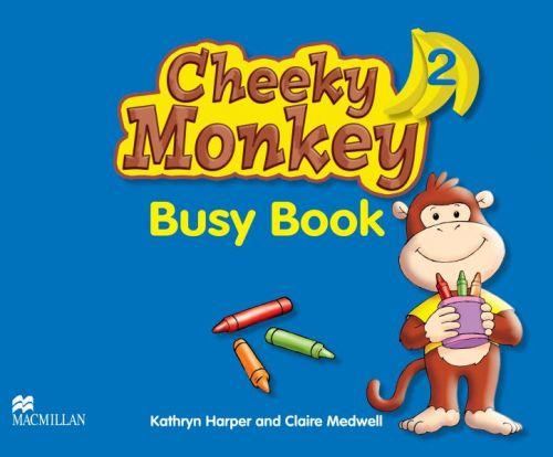 Cheeky Monkey 2 - Busy Book cena od 168 Kč