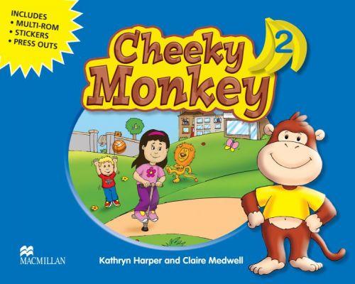 Cheeky Monkey 2 - Pupil's Book Pack cena od 380 Kč