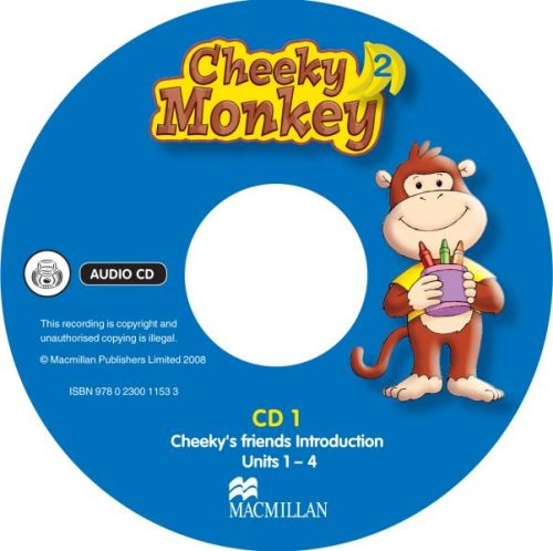 Cheeky Monkey 2 - Class Audio CDs cena od 588 Kč