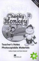 Cheeky Monkey 2 - Teacher's Notes cena od 636 Kč