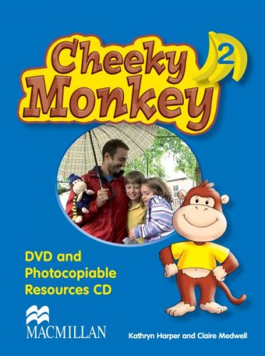 Cheeky Monkey 2 - DVD & Photocopiable CD cena od 668 Kč