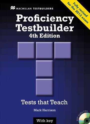New Proficiency Testbuider 4th edition - with Key & Audio CD Pack cena od 652 Kč
