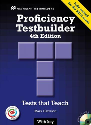 New Proficiency Testbuider 4th edition - with Key & Audio CD & MPO Pack cena od 718 Kč