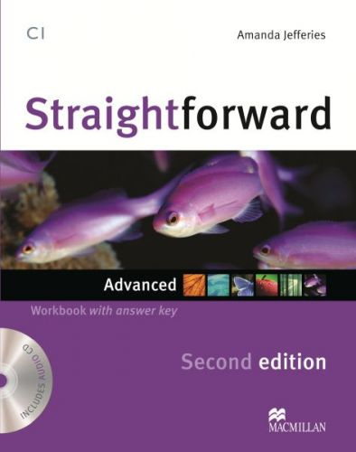 Straightforward 2nd Edition Advanced - Workbook & Audio CD with Key cena od 252 Kč