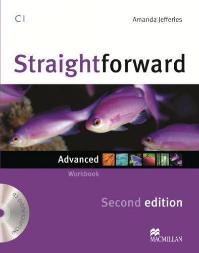 Straightforward 2nd Edition Advanced - Workbook & Audio CD without Key cena od 245 Kč