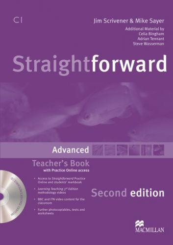 Straightforward 2nd Edition Advanced - Teacher's Book Pack cena od 636 Kč