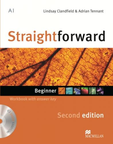 Straightforward 2nd Edition Beginner - Workbook & Audio CD with Key cena od 239 Kč