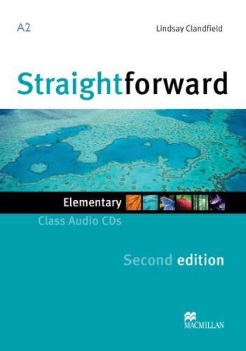 Straightforward 2nd Edition Elementary - Class Audio CDs cena od 628 Kč