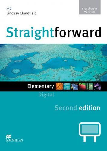 Straightforward 2nd Edition Elementary - IWB DVD-ROM multiple user cena od 1592 Kč