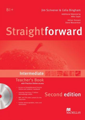Straightforward 2nd Edition Intermediate - Teacher's Book Pack cena od 656 Kč