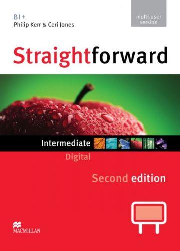 Straightforward 2nd Edition Intermediate - IWB DVD-ROM multiple user cena od 2448 Kč