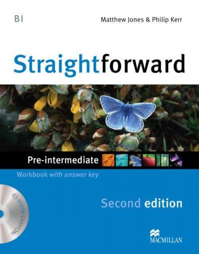 Straightforward 2nd Edition Pre-Intermediate - Workbook with Key Pack cena od 239 Kč