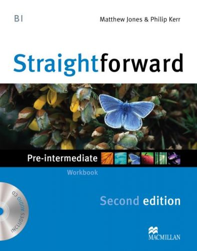 Straightforward 2nd Edition Pre-Intermediate - Workbook without Key Pack cena od 179 Kč