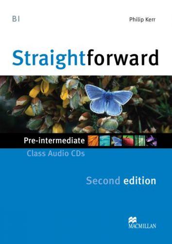 Straightforward 2nd Edition Pre-Intermediate - Class Audio CDs cena od 600 Kč