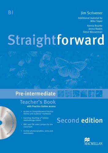 Straightforward 2nd Edition Pre-Intermediate - Teacher's Book Pack cena od 656 Kč