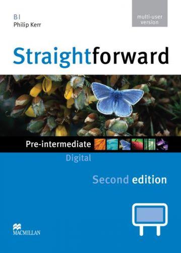 Straightforward 2nd Edition Pre-Intermediate - IWB DVD-ROM multiple user cena od 1592 Kč