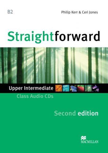 Straightforward 2nd Edition Upper-Intermediate - Class Audio CDs cena od 600 Kč