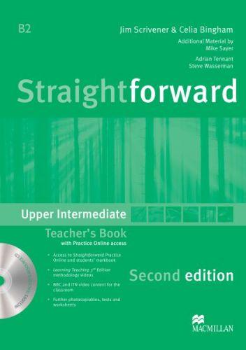 Straightforward 2nd Edition Upper-Intermediate - Teacher's Book Pack cena od 636 Kč
