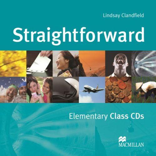 Straightforward Elementary - Class Audio CDs cena od 600 Kč