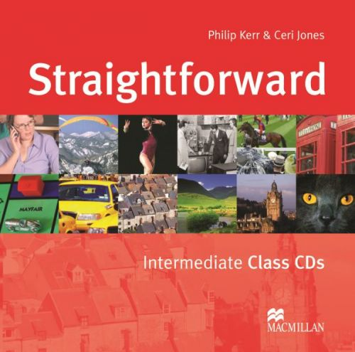 Straightforward Intermediate - Class Audio CDs cena od 600 Kč