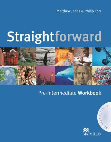 Straightforward Pre-Intermediate - Workbook (without Key) Pack cena od 239 Kč