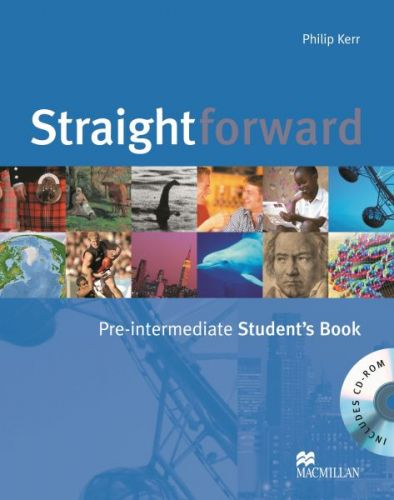Straightforward Pre-Intermediate - Student's Book+CDROM cena od 456 Kč