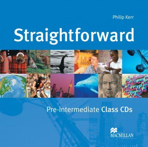 Straightforward Pre-Intermediate - Class Audio CDs cena od 600 Kč