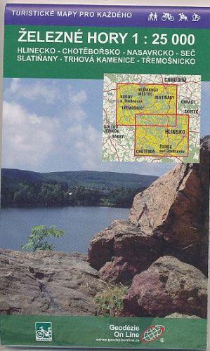 Železné Hory 1:25 000 cena od 73 Kč