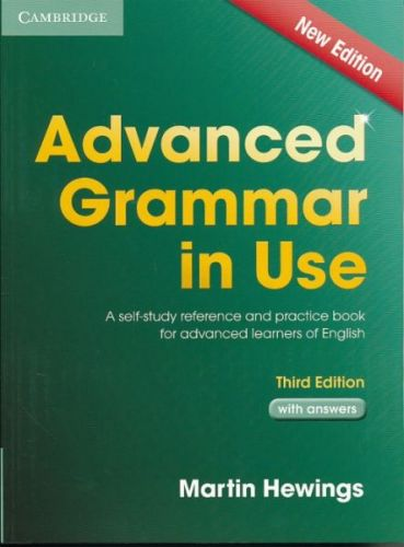 Martin Hewings: Advanced Grammar in Use 3rd edition - Edition with answers cena od 458 Kč