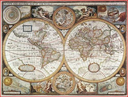 Stolní mapa Antický svět cena od 149 Kč