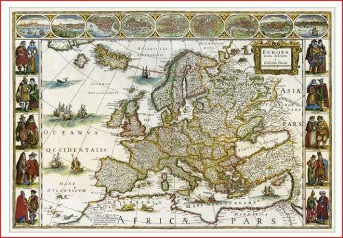 Stolní mapa Historická Evropa cena od 149 Kč