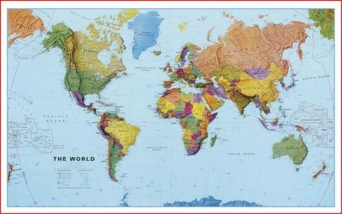 Stolní mapa Svět cena od 199 Kč