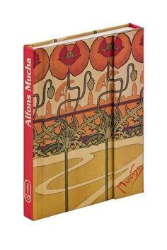 Alfons Mucha, magnetic notes - 10,5x15,8 cm, linkovaný cena od 70 Kč