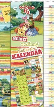 W. Disney Medvídek Pú - měřící kalendář, 33 x 64 cm cena od 152 Kč
