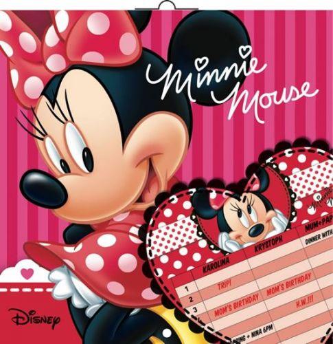 Plánovací W. Disney Minnie, 30 x 30 cm cena od 116 Kč
